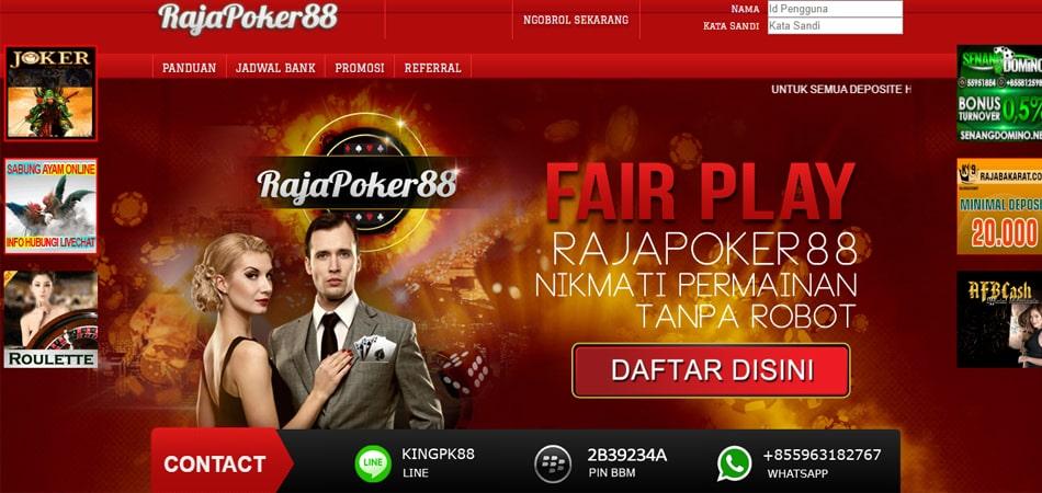 Daftar Situs Pkv Games Terbesar Indonesia Rajapoker88